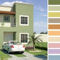 Fachadas De Casas Para Colorear