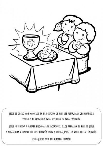La Catequesis  Explicación Con Imágenes Para Niños  Sagrado