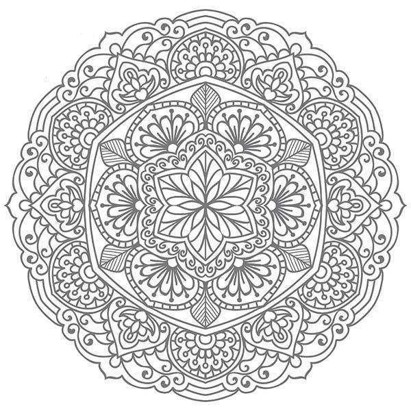 Resultado De Imagem Para Mandalas Para Colorir Dificil