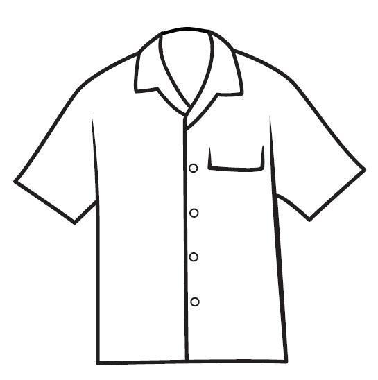 Imagen Para Colorear Camisas