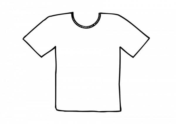 Camisas De Niño Para Colorear