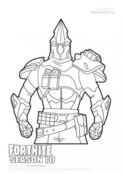 Dibujos Para Colorear De Fortnite Capitulo 2