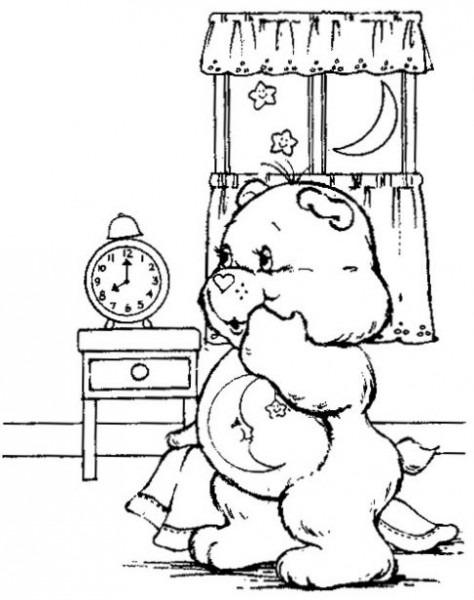 Dibujo De Osos Amorosos Para Colorear  Dibujos Infantiles De Osos