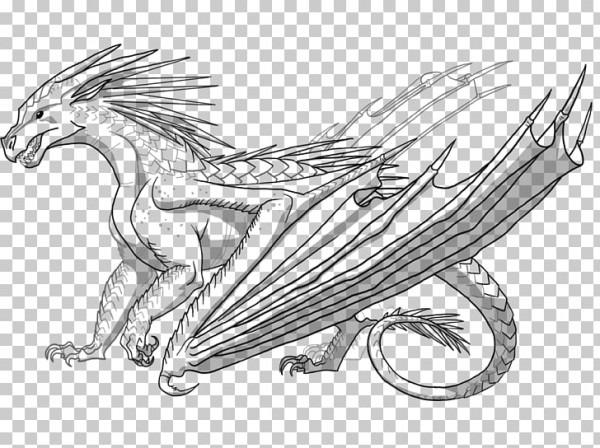 Libro Para Colorear Alas De Dragón De Fuego Fuego Respiración