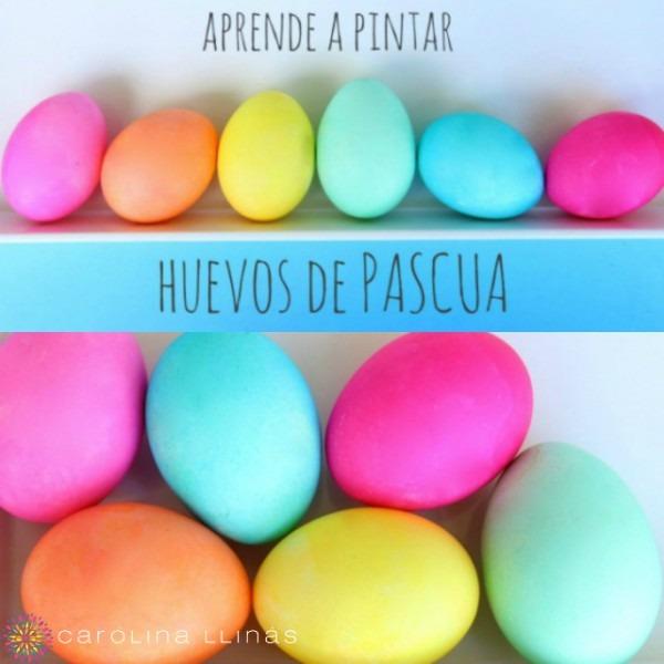 Pasos Básicos Para Pintar Huevos De Pascua