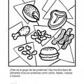 Dibujos De Cereales Y Tuberculos Para Colorear