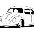 Dibujos De Volkswagen Para Colorear