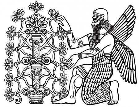 ᐈ Mesopotamia Para Dibujar Imágenes De Stock, Dibujos Mesopotamia