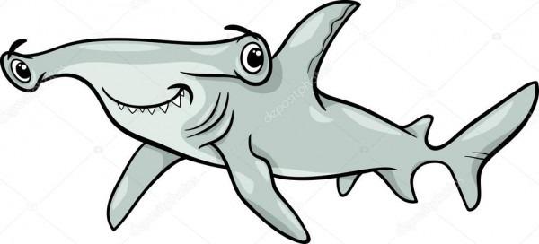 Dibujos Para Colorear Tiburon Martillo