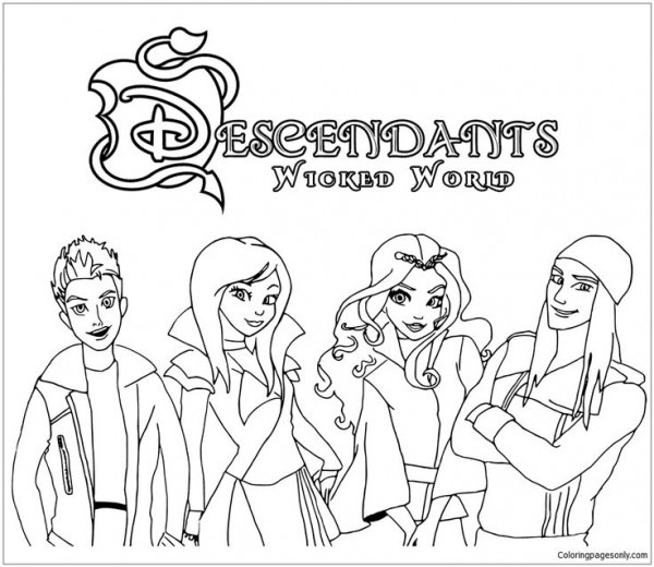 Search For Descendants Drawing At Getdrawings Com