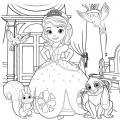 Dibujos Para Colorear E Imprimir De Princesa Sofia