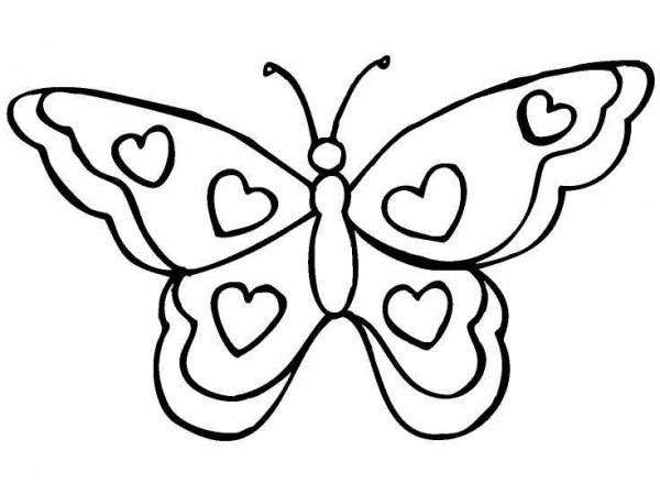 Imagenes Mariposas Para Colorear