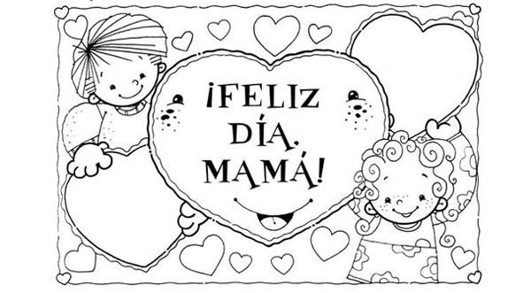 Dibujos Del Dia De La Madre Para Imprimir