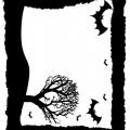 Marcos De Halloween Para Colorear