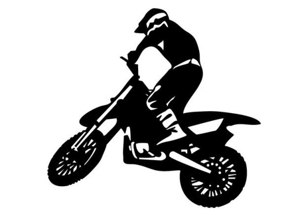 Dibujo Para Colorear Motocross