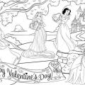 Juegos Para Colorear A Las Princesas De Disney