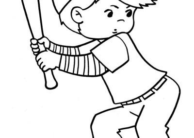 Dibujos Sobre Deportes ® Para Colorear E Imprimir