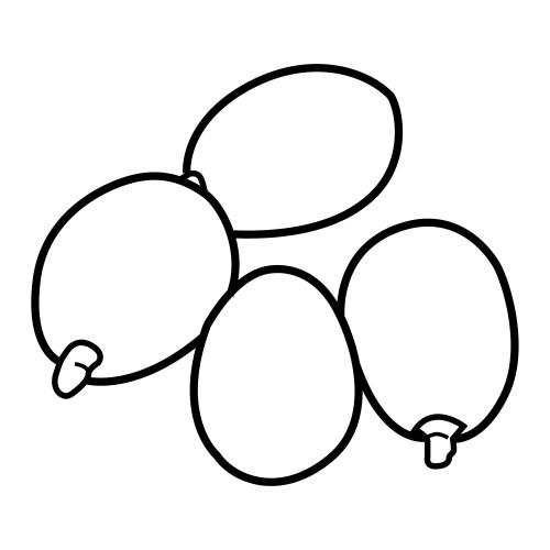 Dibujos De Aceitunas Para Colorear
