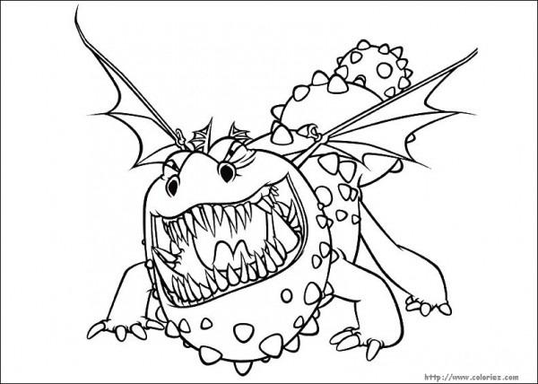 157 Dibujos De Dragones Para Colorear