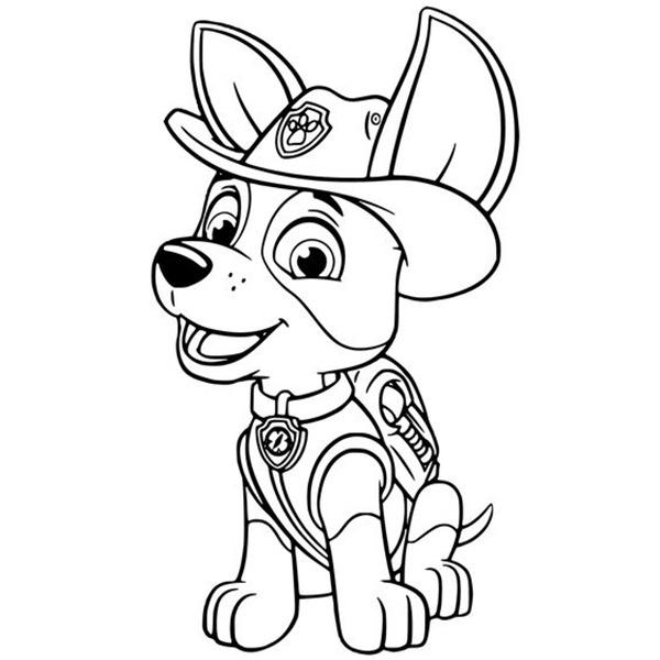 Dibujos Para Colorear Para Ninos De Patrulla Canina