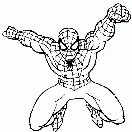 Dibujos De Spiderman Para Imprimir
