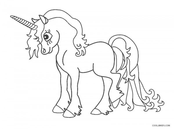 Dibujos De Unicornio Para Colorear