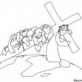 Dibujos Animados De Jesus Para Colorear