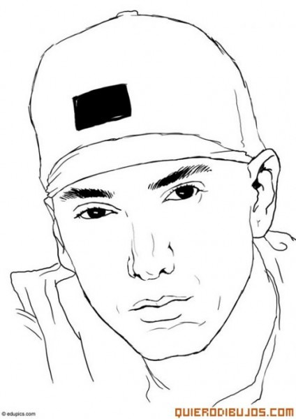 Imágenes Para Pintar De Eminem