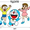 Dibujos Para Colorear De Doraemon Y Sus Amigos