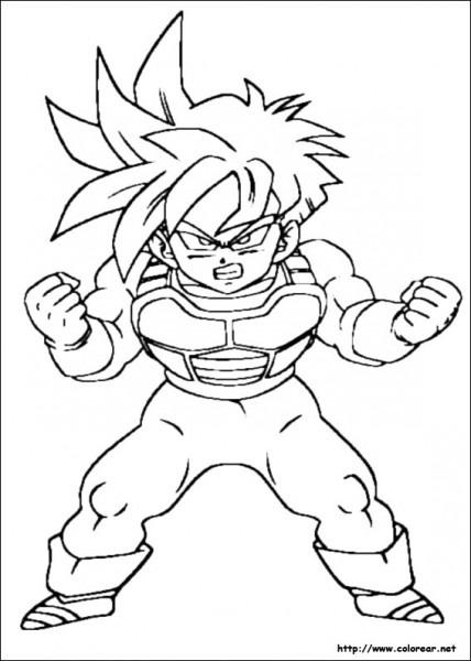 Dibujos Para Pintar  Dragon Ball Z Dibujos Para Pintar
