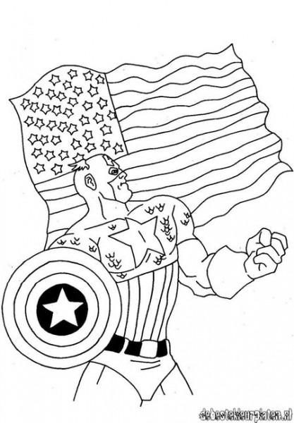 Avengers  33 (superhéroes) – Páginas Para Colorear