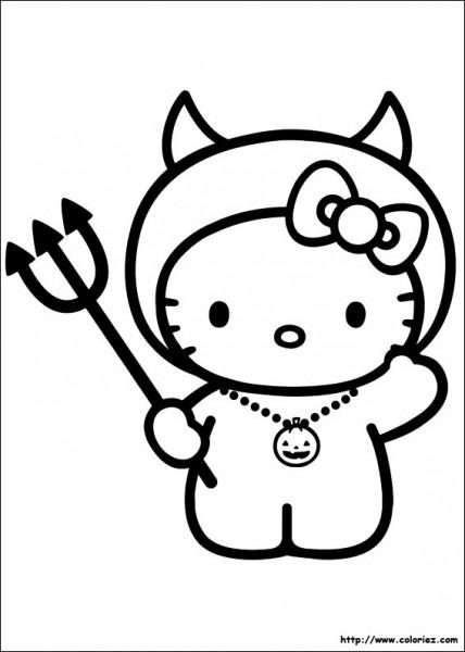 Hello Kitty  110 (dibujos Animados) – Páginas Para Colorear