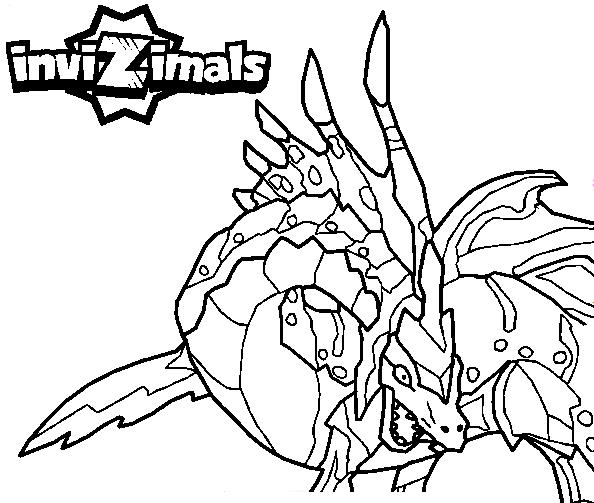 Invizimals  47 (cartoons) – Printable Coloring Pages