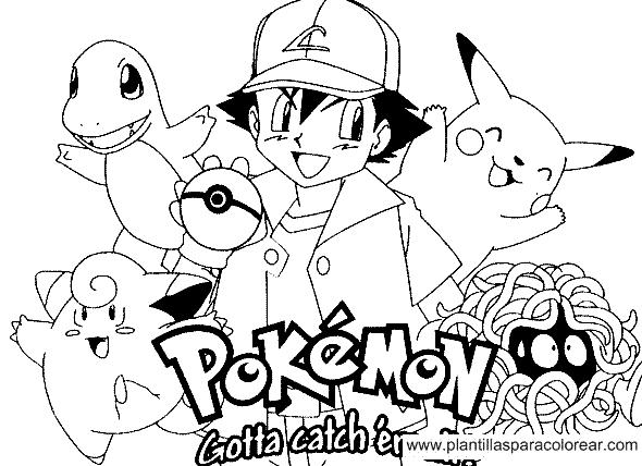 Pokemon Go  123 (videojuegos) – Páginas Para Colorear