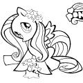Pony Para Colorear On Line