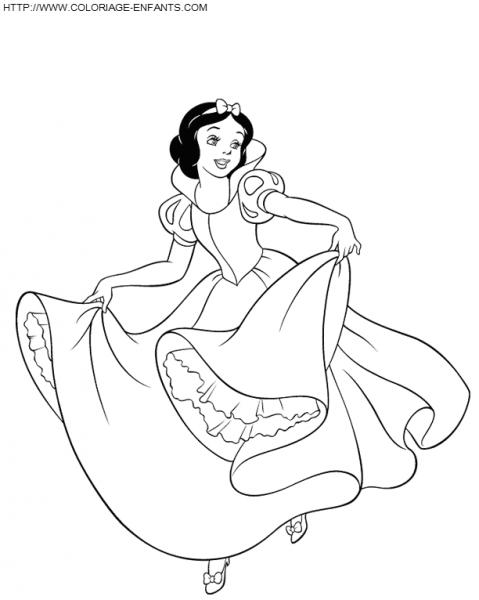 Princesa  144 (personajes) – Páginas Para Colorear