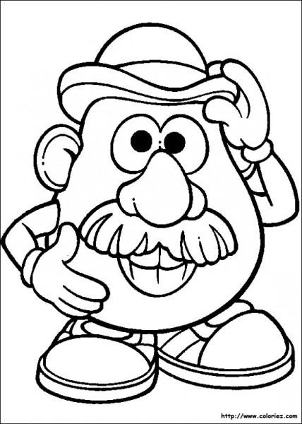 Toy Story  Mister Potato Head  1 (animation Movies) – Printable