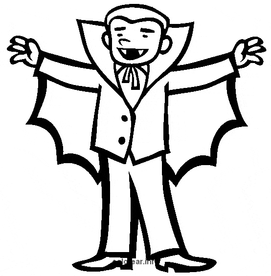 Vampire  12 (characters) – Printable Coloring Pages