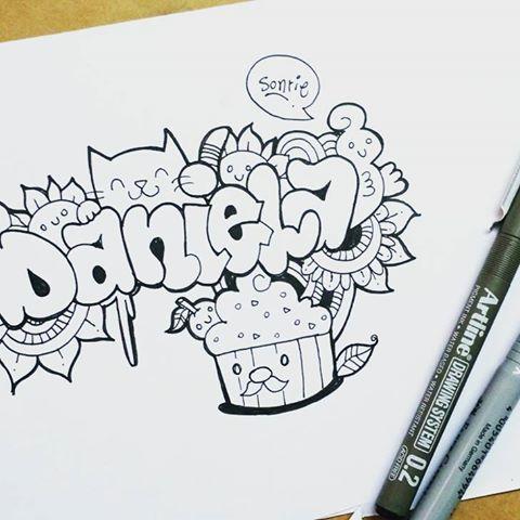 Resultado De Imagen De Graffitis Con El Nombre Daniela