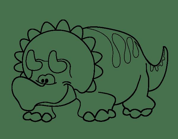 Dinosaurios Para Colorear Pdf