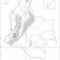 Mapa Fisico De Colombia Para Colorear