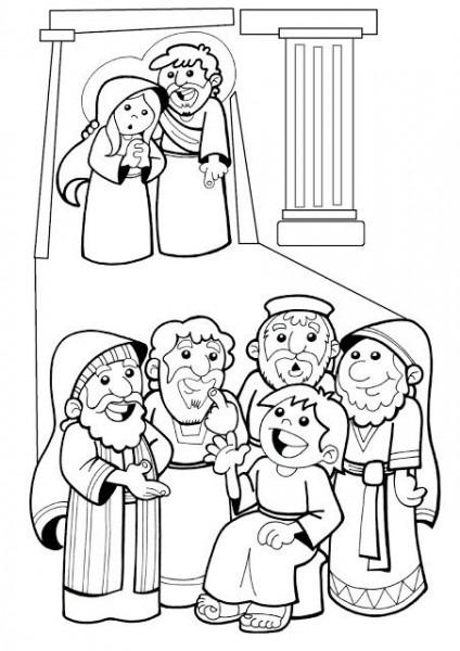 El Rincón De Las Melli  Dibujo  Jesús Perdido Y Hallado En El