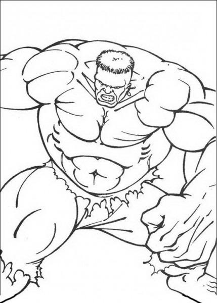 Disegni Da Colorare Hulk 49