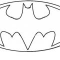 Simbolo De Batman Para Colorear