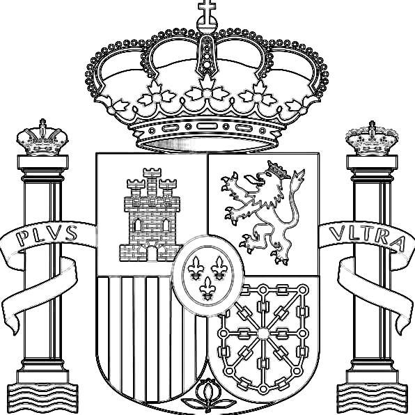Maestra De Infantil  El Escudo De España Para Colorear