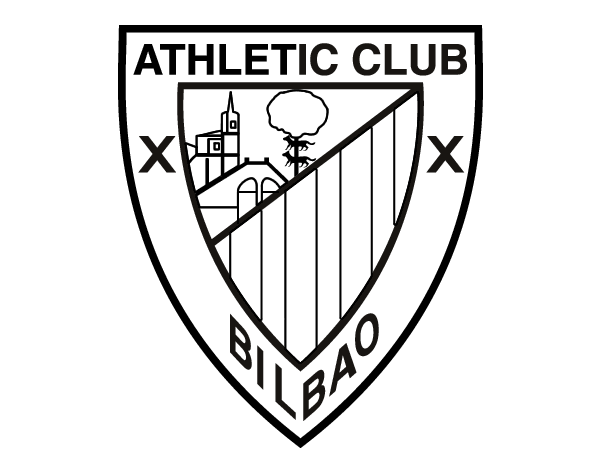 Dibujo De Escudo Del Athletic Club De Bilbao Para Colorear
