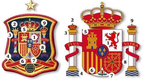 Eurocopa 2012  Los Nueve Errores Del Escudo De La Camiseta De España