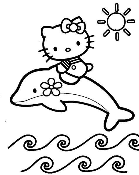 Dibujos Para Colorear Online Hello Kitty