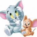 Tom Y Jerry Bebes Para Colorear