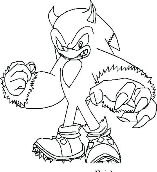 Sonic Para Colorear Para Imprimir Sonic Para Sonic Con Para Y On